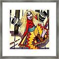 Kabuki Chopsticks 3 Framed Print