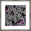 Kale Abstract Framed Print by Christine Burdine