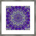 Kaleidoscope 33 Framed Print