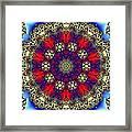 Kaleidoscope 51 Framed Print