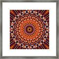 Kaleidoscope 8 Framed Print