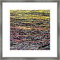 Kaleidoscope Ocean Framed Print