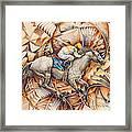 Kaleidoscope Rider Framed Print by Ricardo Chavez-Mendez