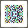 Kaleidoscopic Whimsy Framed Print