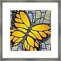 Karens Butterfly Framed Print