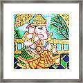 Kasi Yatra Ganesh Framed Print