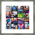 Kavanah Press Collection Framed Print by Marlene Burns