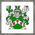 Kearns Coat Of Arms Irish Framed Print