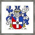 Keenan Coat Of Arms Irish Framed Print