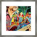 Keith Moseley At Horning's Hideout Framed Print