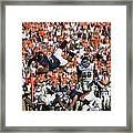 Keith Payne Superman Dive Virginia Cavaliers Football Framed Print by Jason O Watson