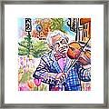 Kemanci Basimin Taci Framed Print