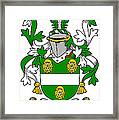 Kennagh Coat Of Arms Irish Framed Print