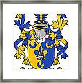 Kenney Coat Of Arms Irish Framed Print