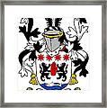 Keon Coat Of Arms Irish Framed Print