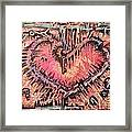 Key To Her Heart Framed Print