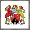 Keyes Coat Of Arms Irish Framed Print