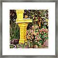 Khmer Shrine Framed Print