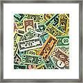 Kid Cash Framed Print