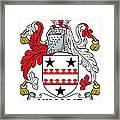 Kinane Coat Of Arms Irish Framed Print