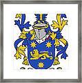 Kindelan Coat Of Arms Irish Framed Print