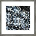 Kings Cross St Pancras Windows Framed Print