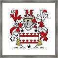 Kinnane Coat Of Arms Irish Framed Print