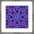 Kinnersley Vine Mandala Framed Print