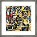 Klong House Framed Print by Andre Salvador