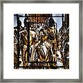 Knight And Friends Framed Print