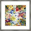 Koi Garden Framed Print