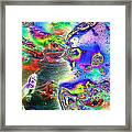 Koi Imagery Framed Print
