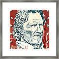 Kris Kristofferson Pop Art Framed Print