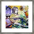 Kurt Cobain- It Aint Medicine Kurt Framed Print