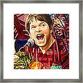 Kyle Hollingsworth At Hornin'gs Hideout Framed Print