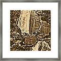 La Coca Falls El Yunque National Rainforest Puerto Rico Prints Rustic Framed Print