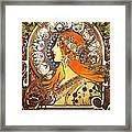 La Plume Zodiac Framed Print