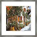 La Strada Al Sole Framed Print