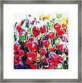Laconner Tulips Framed Print