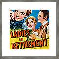 Ladies In Retirement, Us Poster, Ida Framed Print