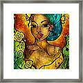 Lady Creole Framed Print