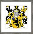 Laffan Coat Of Arms Irish Framed Print