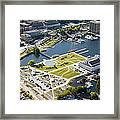 Lake Union Park And Museum Of History Framed Print