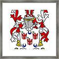 Lally Coat Of Arms Irish Framed Print