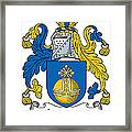 Lamont Coat Of Arms Irish Framed Print
