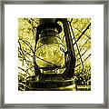 Lamp No.8 Framed Print