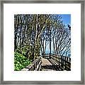 Langmoor-lister Gardens Framed Print