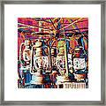 Lantern Chandelier 02 Framed Print