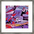 Large Fish Framed Print