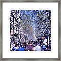 Las Ramblas - Barcelona Spain Framed Print
